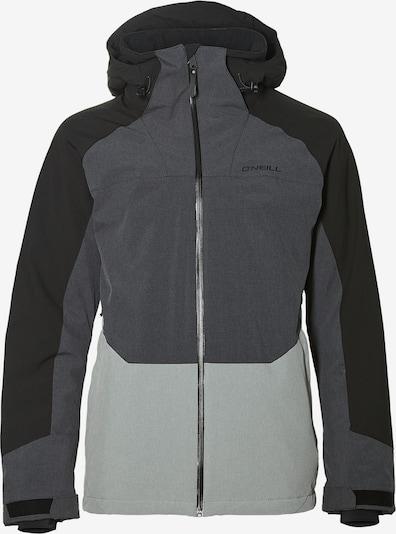 O'NEILL Sportjacke 'GALAXY IV' in grau / hellgrau / schwarz, Produktansicht