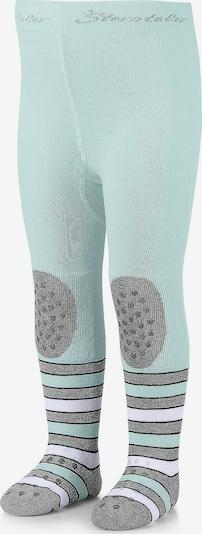 STERNTALER Krabbelstrumpfhose in pastellblau / grau / weiß, Produktansicht