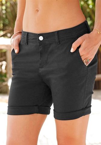 juoda LASCANA Kelnės