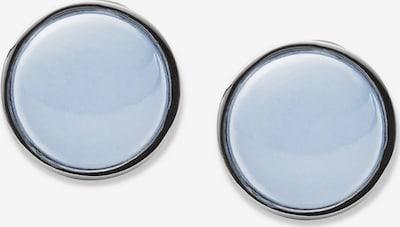SKAGEN Ohrstecker 'Sea Glass' in rauchblau / silber, Produktansicht