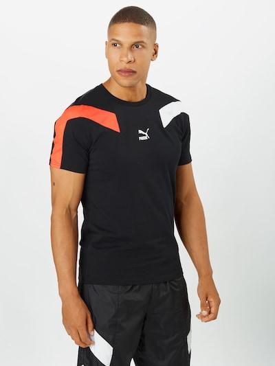 narancs / fekete / fehér PUMA Póló: Elölnézet