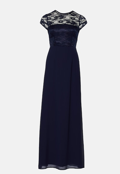 Young Couture by BARBARA SCHWARZER Kleid in navy, Produktansicht