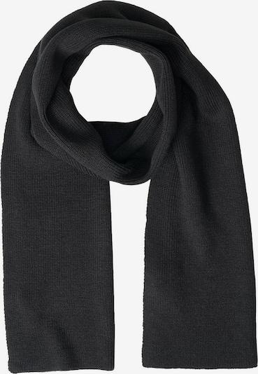 JACK & JONES Sjaal 'JACDNA' in de kleur Zwart, Productweergave