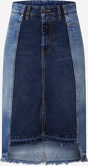 DIESEL Rok 'DE-PAU-SP' in de kleur Blauw denim, Productweergave