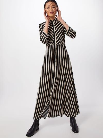 Y.A.S Hemdkleid 'SAVANNA' in creme / schwarz, Modelansicht