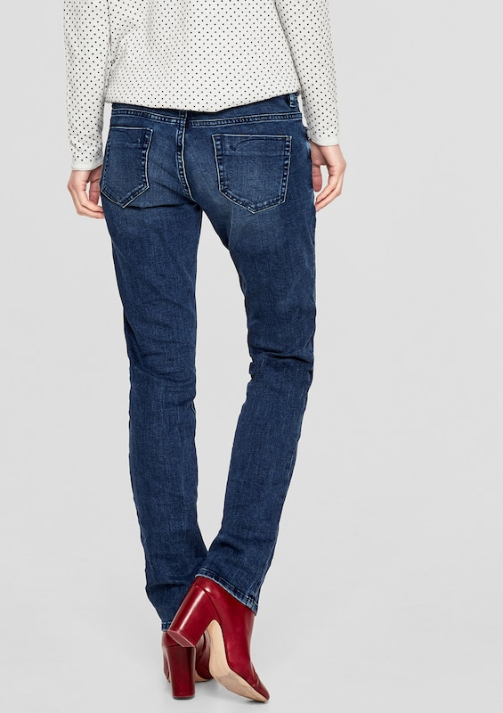 s.Oliver RED LABEL Shape Slim: Jeans mit Effektnähten