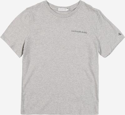 Calvin Klein Jeans Shirt in graumeliert: Frontalansicht