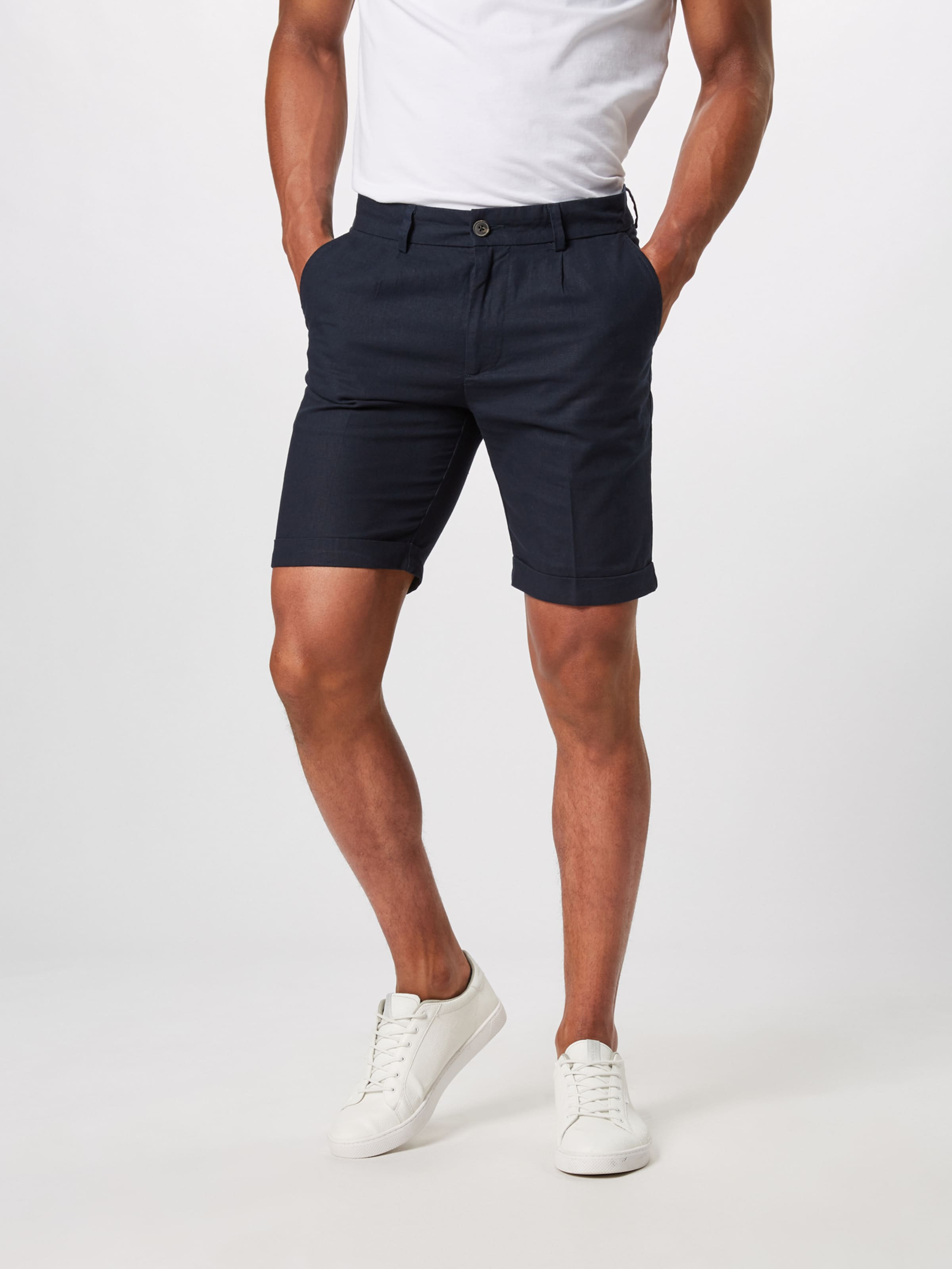 One In 'linen Chino Short' Hosen Navy Pier UMLGVSzqp