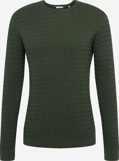KnowledgeCotton Apparel Pullover in dunkelgrün, Produktansicht