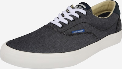 JACK & JONES Sneaker 'JFWMORK CHAMBRAY' in anthrazit / weiß, Produktansicht