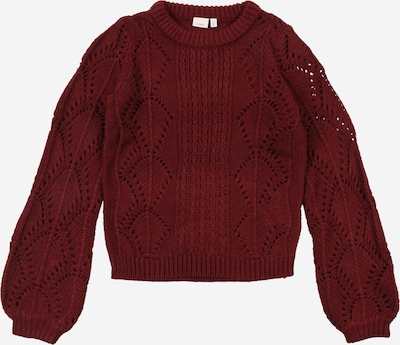 NAME IT Pullover in weinrot: Frontalansicht