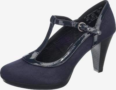 bugatti Slingpumps in de kleur Donkerblauw, Productweergave