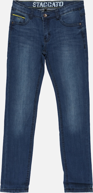 STACCATO Jeans 'Kn.-Jeans, Skinny' in blue denim, Produktansicht