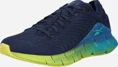 Reebok Classic Sneakers laag 'Zig Kinetica (REE)C' in de kleur Turquoise / Donkerblauw / Geel, Productweergave