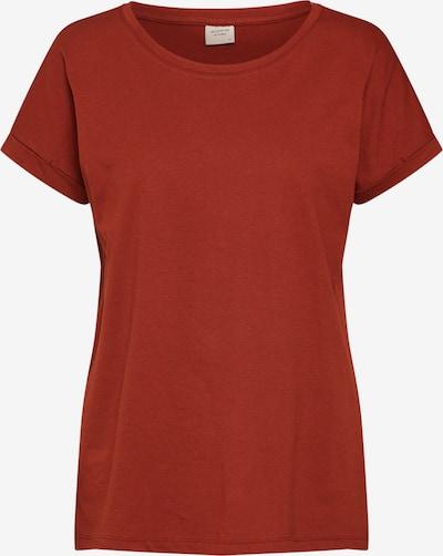 JACQUELINE de YONG Shirt in rostbraun, Produktansicht