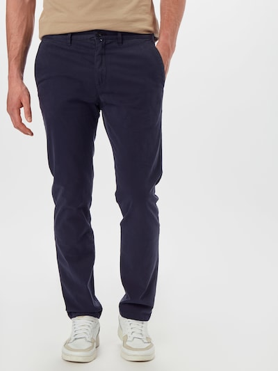 Marc O'Polo Chino in de kleur Navy, Modelweergave