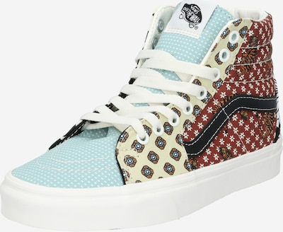 VANS Sneaker in beige / blau / braun, Produktansicht