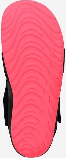 rózsaszín / fekete Nike Sportswear Nyitott cipők 'Sunray Protect 2 TD': Alulnézet