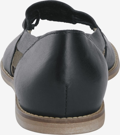 heine Ballerina in schwarz, Produktansicht