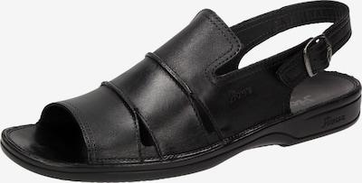 SIOUX Sandale 'Venezuela' in schwarz, Produktansicht