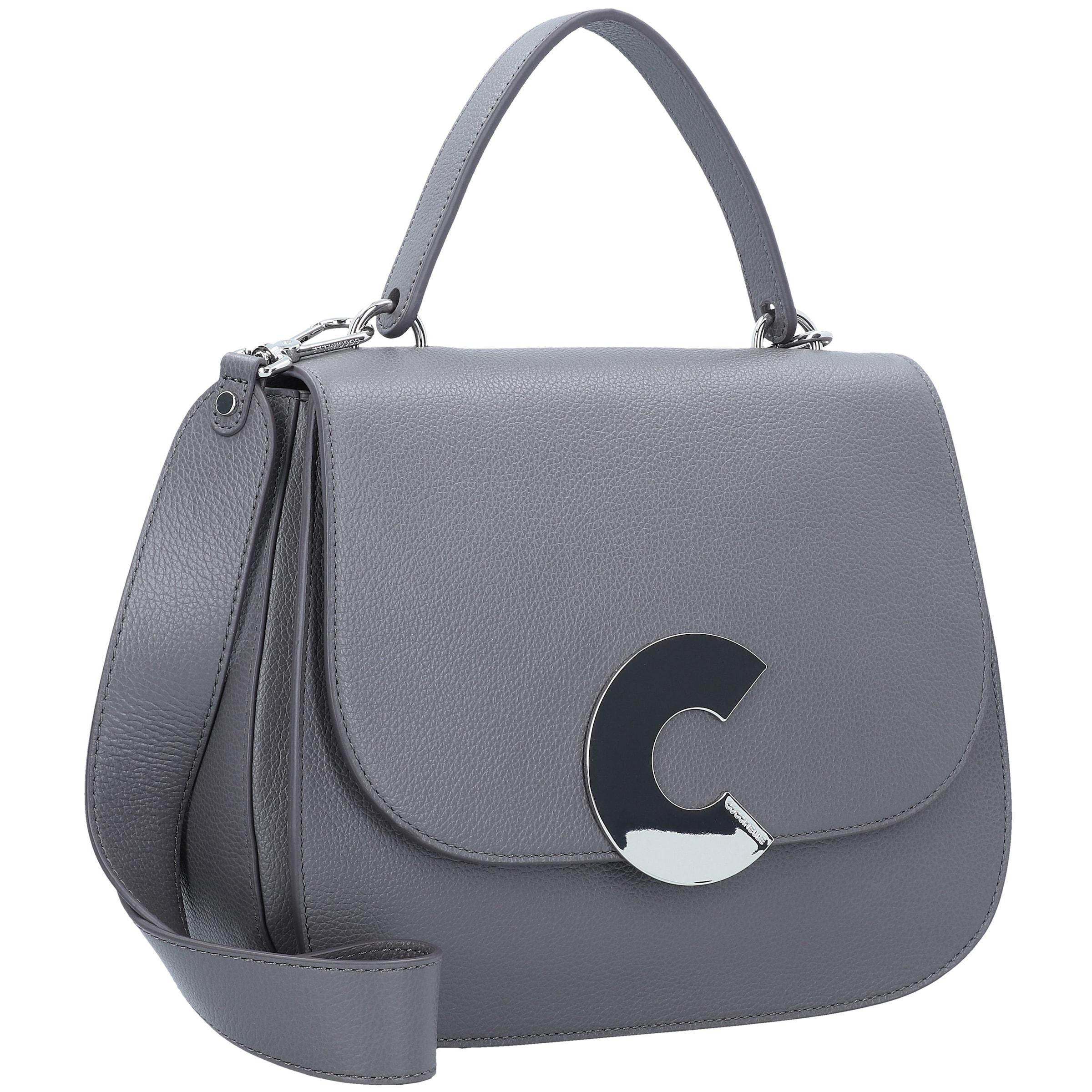 Coccinelle Grau In 'craquante' Grau Handtasche Handtasche 'craquante' Coccinelle In Coccinelle N80vwmn