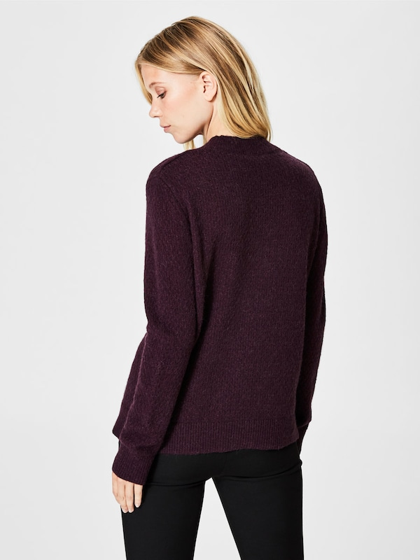 SELECTED FEMME Weicher Woll Strickpullover