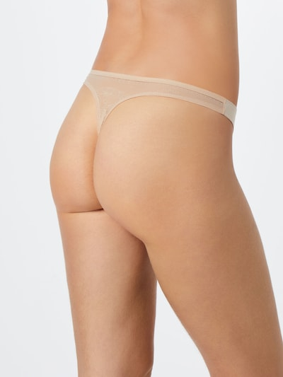 SCHIESSER String 'Invisible Lace' in nude: Rückansicht