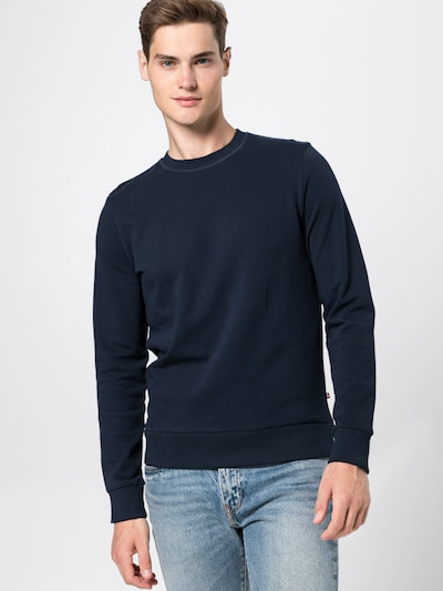 JACK & JONES Sweatshirt 'JJEHOLMEN SWEAT CREW NECK' in navy, Produktansicht