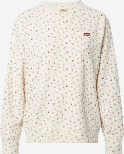 LEVI'S Sweatshirt 'STANDARD CREW' in beige / rosa, Produktansicht