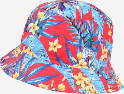 NEW ERA Hut in beige / blau / hellblau / gelb / rot, Produktansicht
