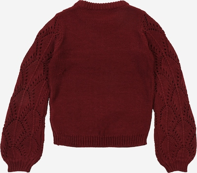 NAME IT Pullover in weinrot: Rückansicht