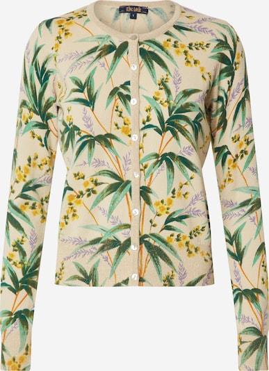King Louie Strickjacke 'Tahiti' in grün / mischfarben, Produktansicht