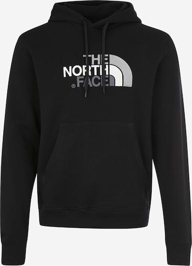 THE NORTH FACE Sweat-shirt en gris foncé / noir / blanc, Vue avec produit