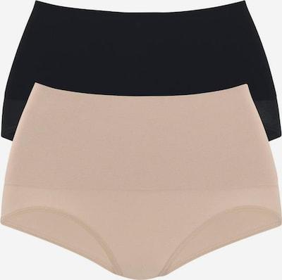 PETITE FLEUR Bodyforming-Slips (2 Stck.) in nude / schwarz, Produktansicht