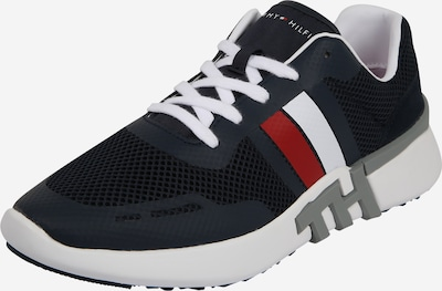 TOMMY HILFIGER Sneakers laag in de kleur Donkerblauw / Rood / Wit, Productweergave
