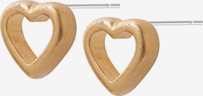 Sence Copenhagen Ohrstecker 'Herz' in gold, Produktansicht