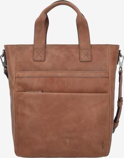 Picard 'Enzo' Shopper Tasche Leder 42 cm in braun, Produktansicht