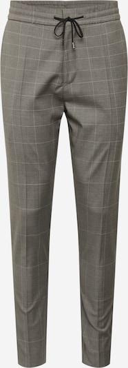 HUGO Kalhoty 'Zennet' - šedá: Pohled zepředu