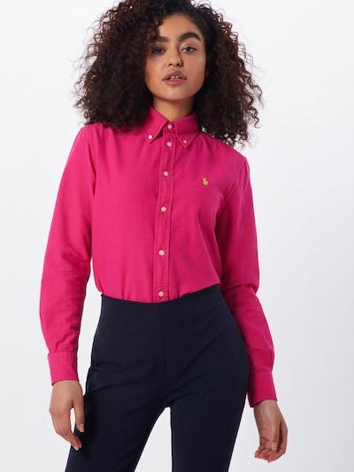 POLO RALPH LAUREN Bluza | roza barva, Prikaz modela