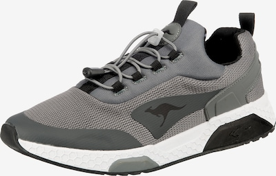 KangaROOS Sneaker in basaltgrau / schwarz, Produktansicht