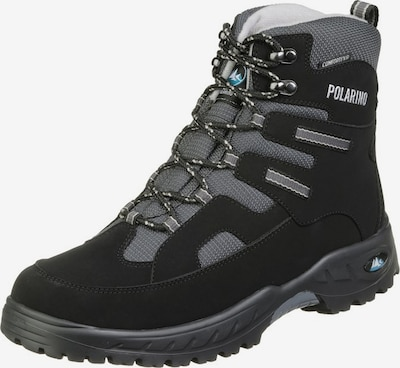 POLARINO Flake Outdoorschuh in schwarz, Produktansicht
