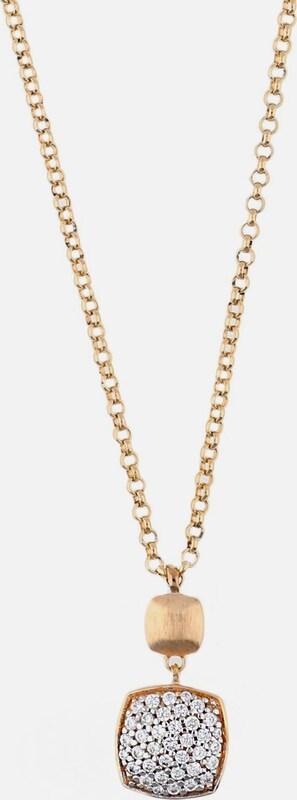 ESPRIT Halskette Antigone mit eckigem Zirkonia-Anhänger