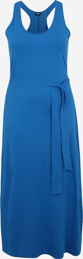 Urban Classics Curvy Kleid in blau, Produktansicht