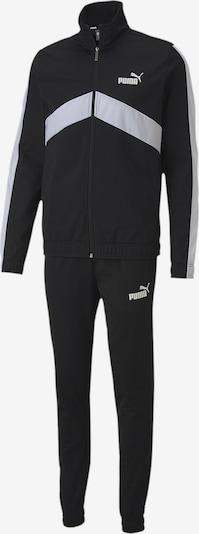 PUMA Trainingsanzug 'Classic' in schwarz / weiß, Produktansicht