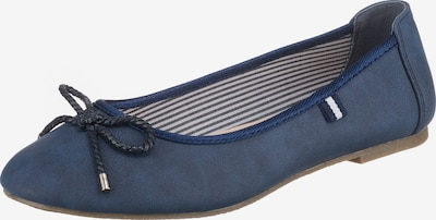 Freyling Ballerinas in blau, Produktansicht