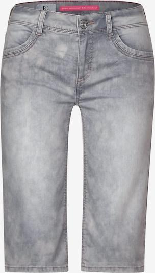 STREET ONE Graue Bermuda-Shorts in grau, Produktansicht