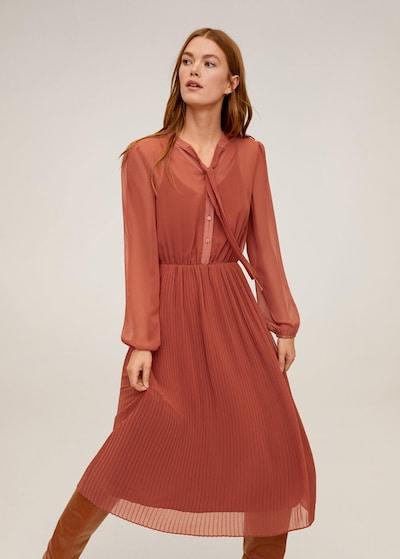 MANGO Kleid ' Emma-a' in braun, Modelansicht