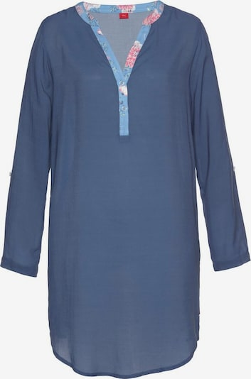 s.Oliver Nachthemd in dunkelblau, Produktansicht