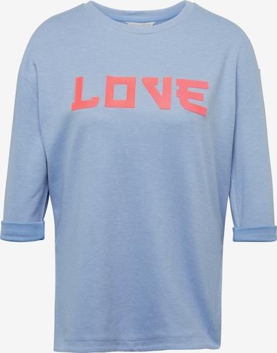 TOM TAILOR DENIM Sweatshirt in rauchblau / rosé, Produktansicht