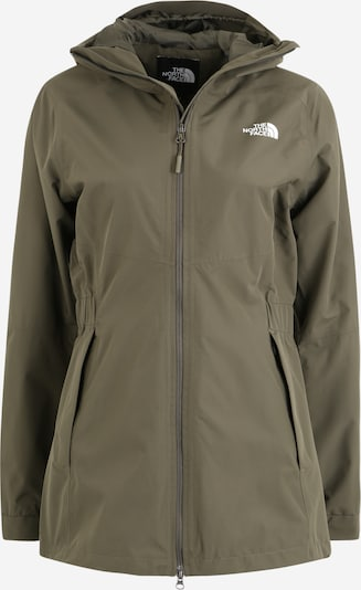 THE NORTH FACE Veste outdoor en kaki, Vue avec produit